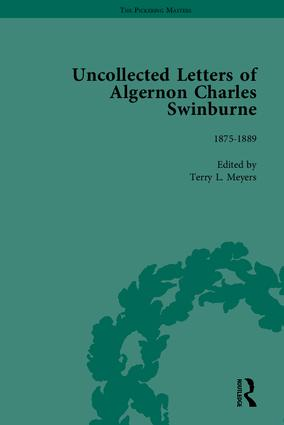 The Uncollected Letters of Algernon Charles Swinburne: 1st Edition (Hardback) book cover