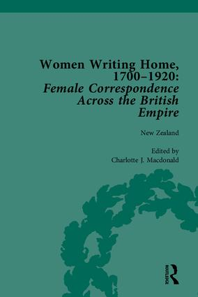 Women Writing Home, 1700-1920: Female Correspondence Across the British Empire, 1st Edition (Hardback) book cover