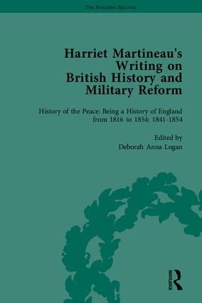 Harriet Martineau's Writing on British History and Military Reform: 1st Edition (Hardback) book cover