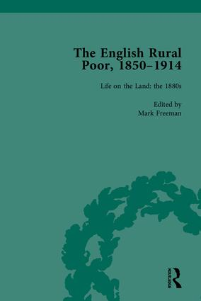 The English Rural Poor, 1850-1914: 1st Edition (Hardback) book cover
