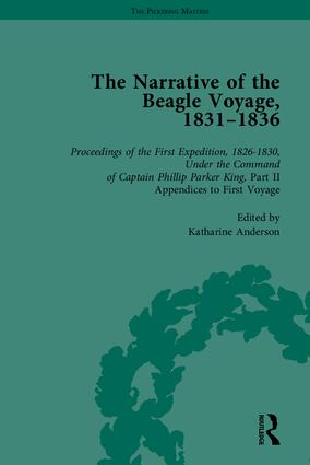 The Narrative of the Beagle Voyage, 1831-1836: 1st Edition (Hardback) book cover