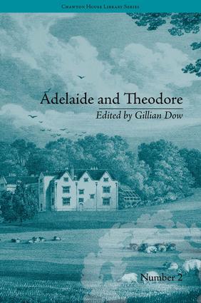 Adelaide and Theodore: by Stephanie-Felicite De Genlis book cover
