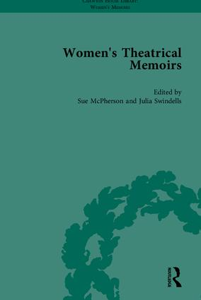Women's Theatrical Memoirs, Part II: 1st Edition (Hardback) book cover