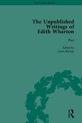 The Unpublished Writings of Edith Wharton: 1st Edition (Hardback) book cover
