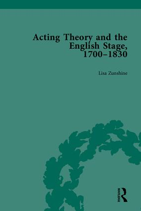 Acting Theory and the English Stage, 1700-1830: 1st Edition (Paperback) book cover