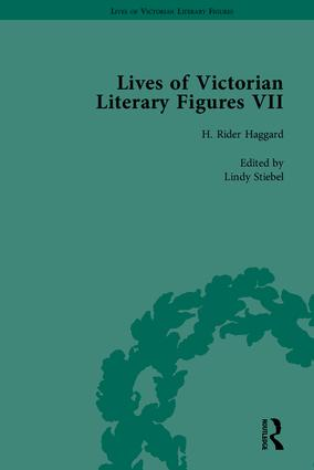 Lives of Victorian Literary Figures, Part VII: Joseph Conrad, Henry Rider Haggard and Rudyard Kipling by their Contemporaries, 1st Edition (Hardback) book cover