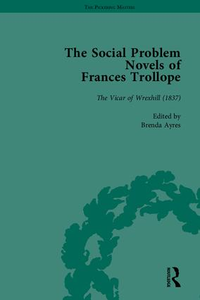 The Social Problem Novels of Frances Trollope: 1st Edition (Hardback) book cover