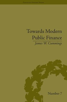 Towards Modern Public Finance: The American War with Mexico, 1846-1848, 1st Edition (Hardback) book cover