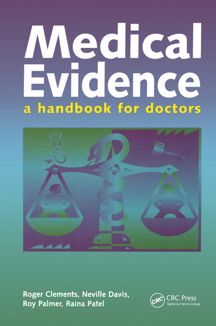 Medical Evidence: 1st Edition (Paperback) book cover