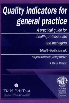 Quality Indicators for General Practice: 1st Edition (Paperback) book cover