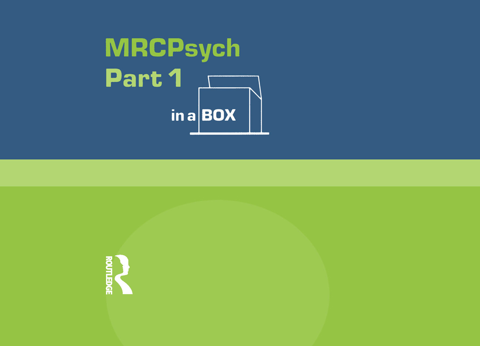 MRC Psych Part 1 In a Box (Hardback) book cover