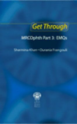 Get Through MRCOphth Part 3: EMQs: 1st Edition (Paperback) book cover