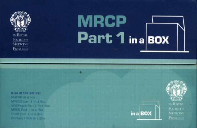 MRCP Part 1 In a Box: 1st Edition (Paperback) book cover