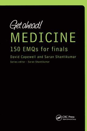 Get ahead! MEDICINE 150 EMQs for Finals (Paperback) book cover