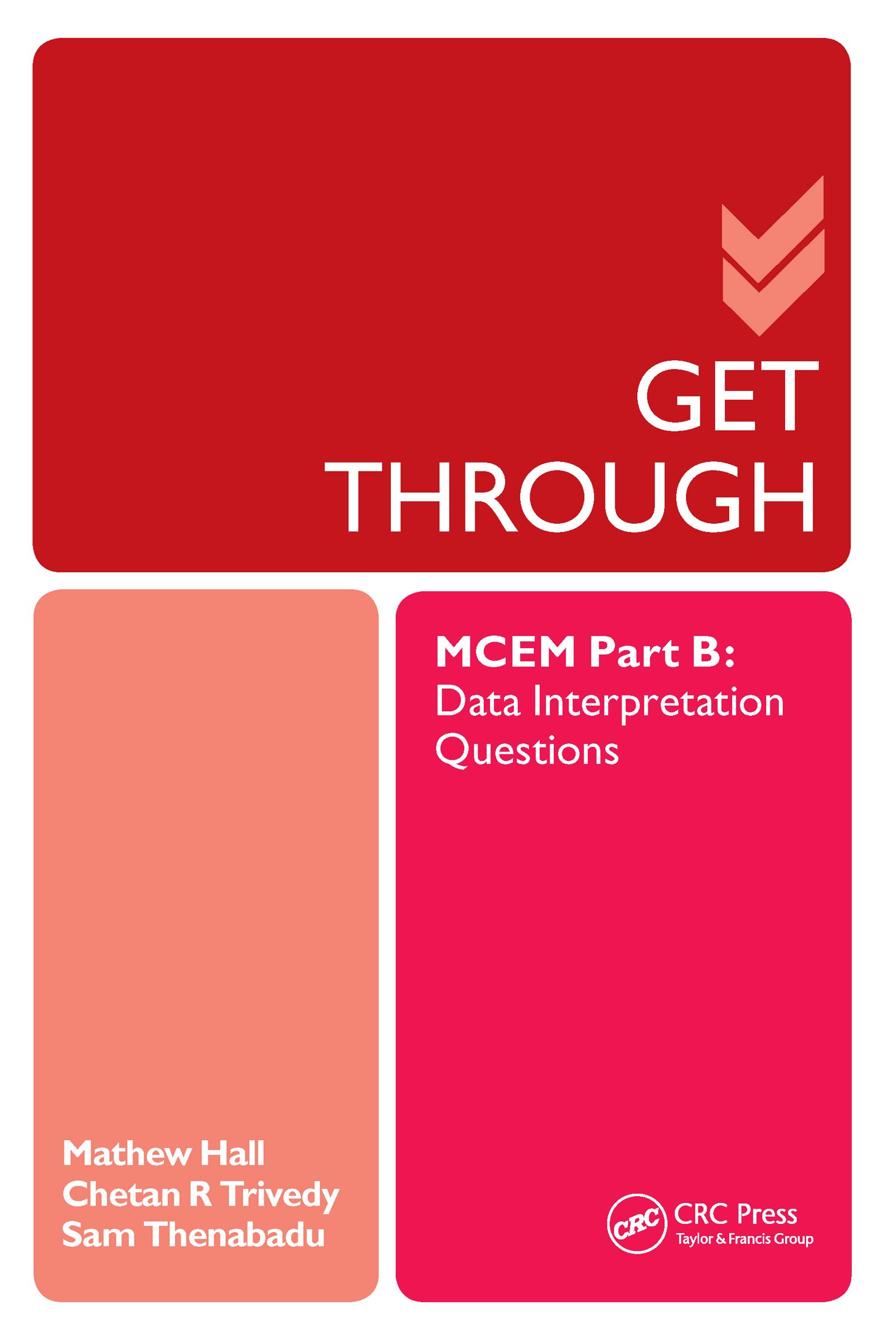 Get Through MCEM Part B: Data Interpretation Questions (Paperback) book cover