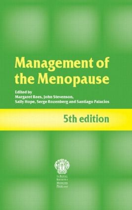 Management of the Menopause, 5th edition: 5th Edition (Paperback) book cover