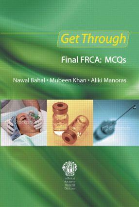 Get Through Final FRCA: MCQs book cover