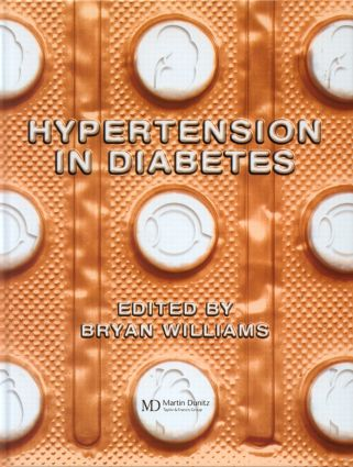 Hypertension in Diabetes: 1st Edition (Hardback) book cover