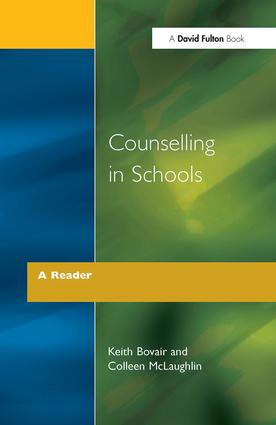 Counselling in Schools - A Reader: 1st Edition (Paperback) book cover