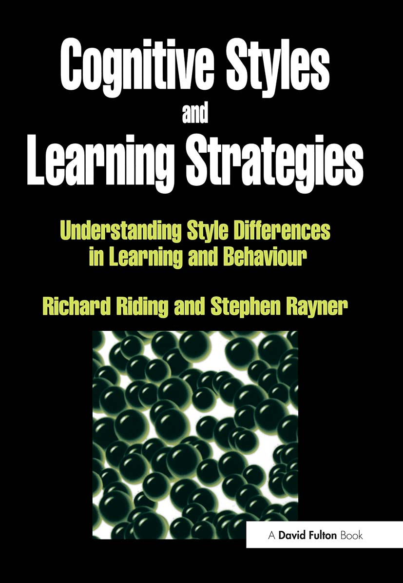 Cognitive Styles and Learning Strategies: Understanding Style Differences in Learning and Behavior, 1st Edition (Paperback) book cover