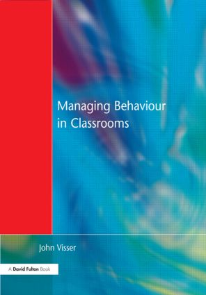 Managing Behaviour in Classrooms (Paperback) book cover
