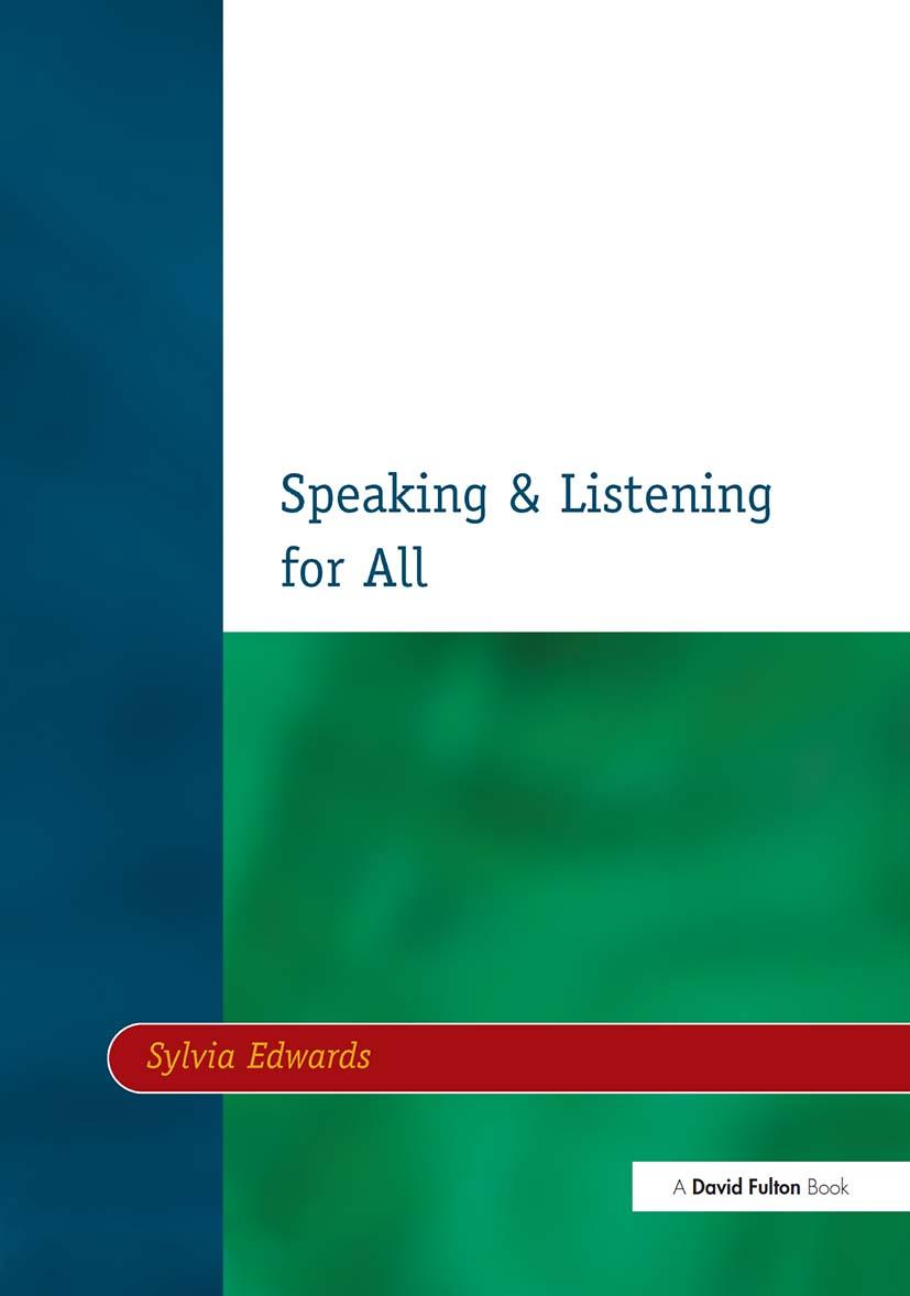 Speaking & Listening for All