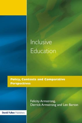 Inclusive Education: Policy, Contexts and Comparative Perspectives, 1st Edition (Paperback) book cover