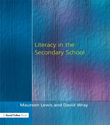 Literacy in the Secondary School: 1st Edition (Paperback) book cover