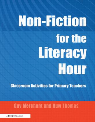 Non-Fiction for the Literacy Hour: Classroom Activities for Primary Teachers (Paperback) book cover