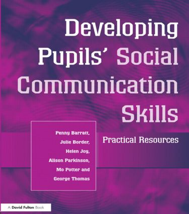 Developing Pupils Social Communication Skills: Practical Resources (Paperback) book cover