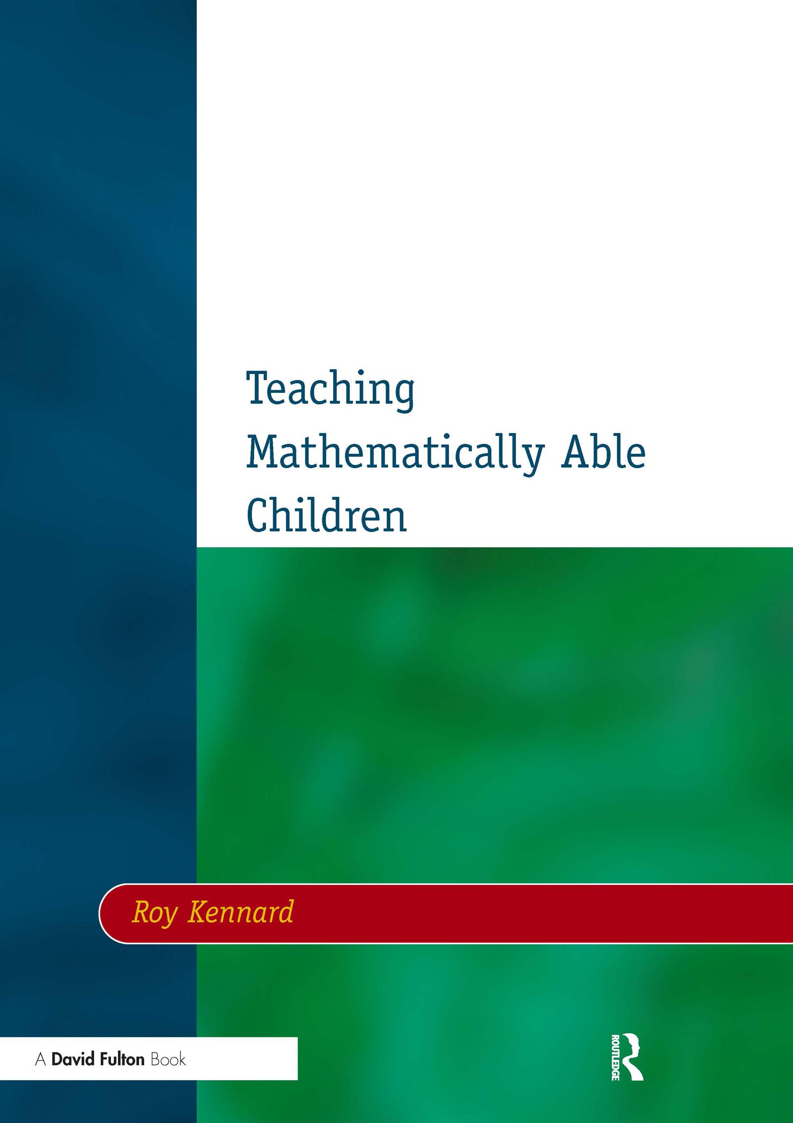Teaching Mathematically Able Children