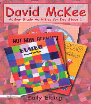 David McKee: Author Study Activities for Key Stage 1 book cover