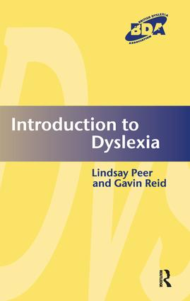 Introduction to Dyslexia (Paperback) book cover