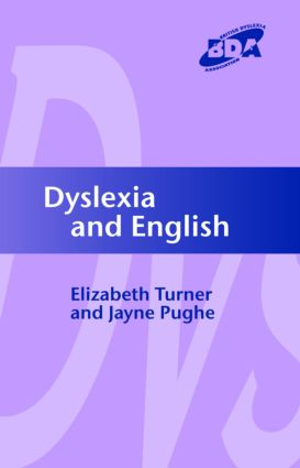 Dyslexia and English (Paperback) book cover