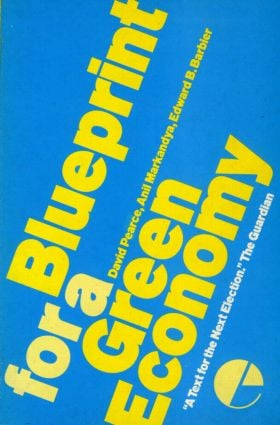 Blueprint 1: For a Green Economy (Paperback) book cover