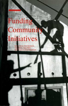 Funding Community Initiatives (Paperback) book cover