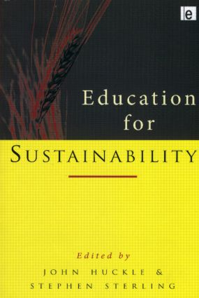 Education for Sustainability book cover