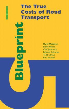 Blueprint 5: True Costs of Road Transport book cover
