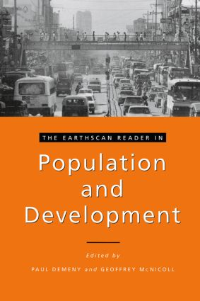 The Earthscan Reader in Population and Development book cover