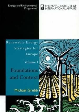 Renewable Energy Strategies for Europe: Foundations and Context (Paperback) book cover
