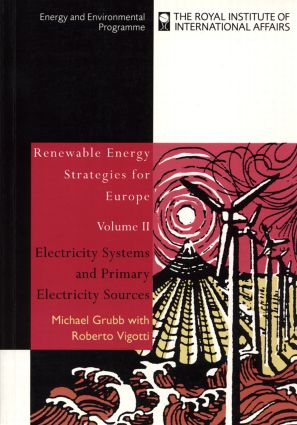 Renewable Energy Strategies for Europe: Electricity Systems and Primary Electricity Sources (Paperback) book cover
