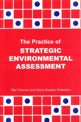The Practice of Strategic Environmental Assessment (Paperback) book cover