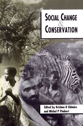 Social Change and Conservation: 1st Edition (Paperback) book cover
