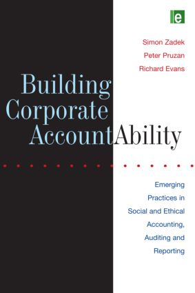 Building Corporate Accountability: Emerging Practice in Social and Ethical Accounting and Auditing, 1st Edition (Paperback) book cover