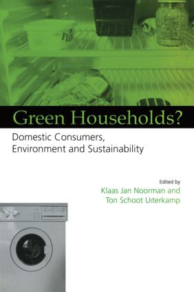 Green Households: Domestic Consumers, the Environment and Sustainability, 1st Edition (Paperback) book cover