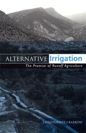 Alternative Irrigation: The Promise of Runoff Agriculture, 1st Edition (Paperback) book cover