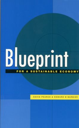 Blueprint 6: For a Sustainable Economy, 1st Edition (Paperback) book cover