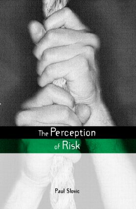 The Perception of Risk book cover
