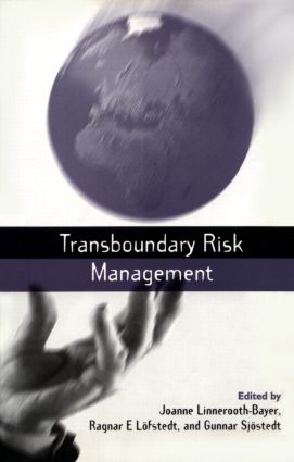 Transboundary Risk Management: 1st Edition (Paperback) book cover