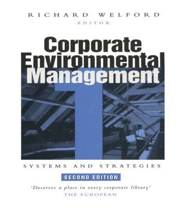 Corporate Environmental Management 1: Systems and strategies, 2nd Edition (Hardback) book cover